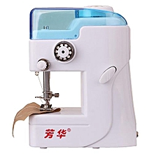 Top Quality Portable Needlework Cordless Mini Handheld Clothes Fabrics Sewing Machine Electric Sewing Tools 11 X 4.5 X 7cm
