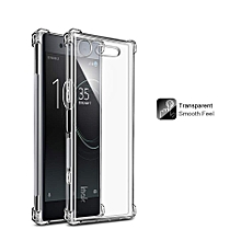 Imak TPU Airbag Shockproof Back Cover for Sony Xperia XZ1 Soft Silicone Case