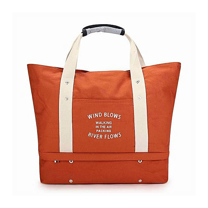 7e4ee52090 Generic Gracosy Large Travel Tote Bag With Shoes Compartment Weekend Beach Bag  Canvas Shoulder Bag Handbag Carry-On Duffel Bag For Women