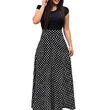 6c114bbca8833 Explosive version of European and American style flower print color  matching dress long skirt women&#