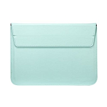"13"" Air Envelope Bag, Premium Soft PU Sleeve Cooling Bracket Case For 13.3 Inch Ultrabook (without CD-ROM Laptop), Green"