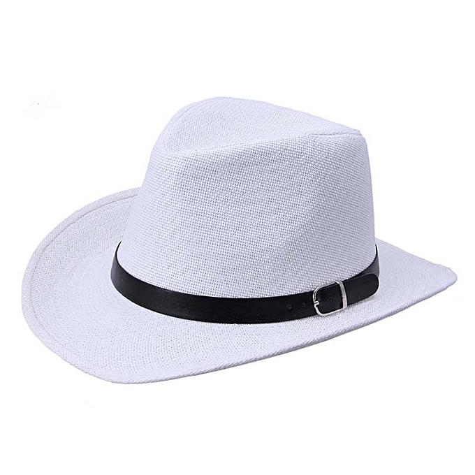 Summer Men Straw Hat Cowboy Hat WH