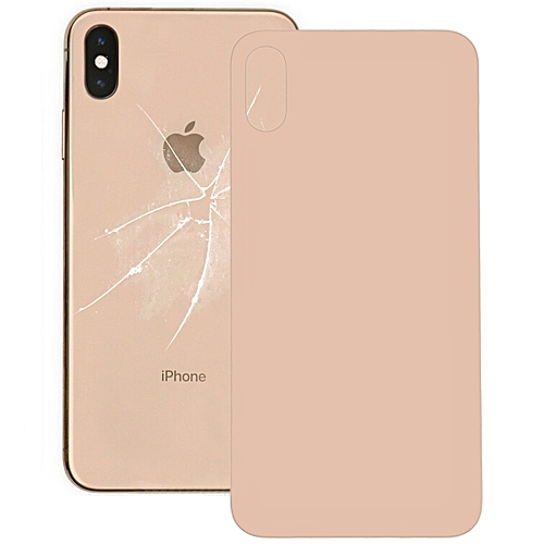 Glass Battery Back Cover for iPhone XS Max(Gold)