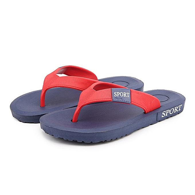 10d05550b1e486 Generic Men s Beach Slippers Soft Strap Comfort Beach Flip Flops ...