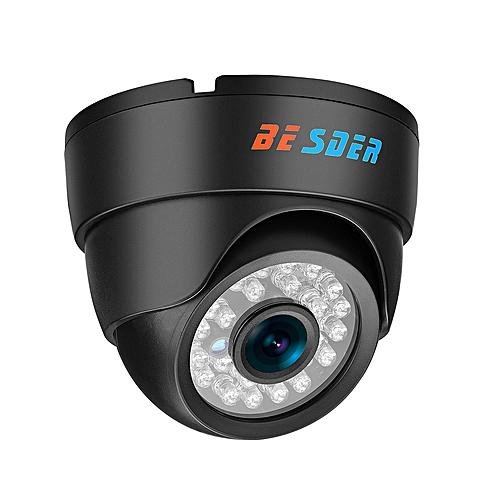BESDER 2 8mm wide IP Camera 720P 960P 1080P ONVIF P2P Motion Detection RTSP  email alert XMEye 48V POE Surveillance CCTV Indoor(48V POE 1080P)(6mm)