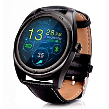 Bluetooth Heart Rate Monitor Smart Watch-BLACK