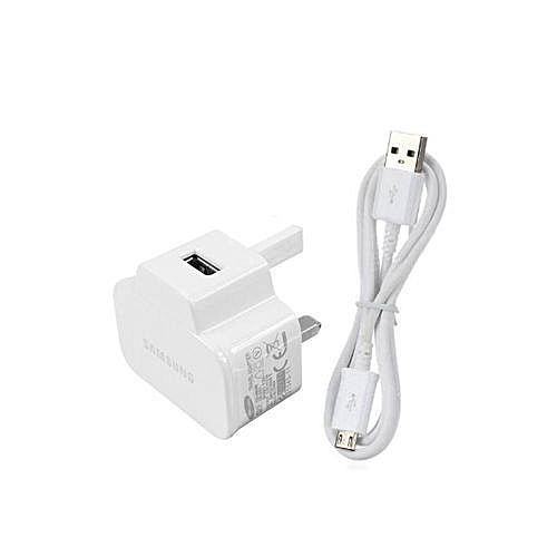 Galaxy Smartphone Charger - White