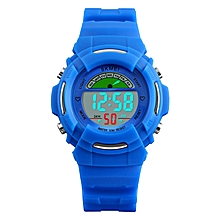 SKMEI 1272 LED Digital Display Watch Kid Outdoor Sport Children Wrist Watch