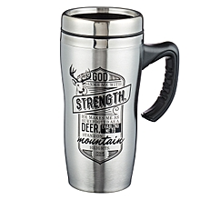 Stainless Steel Travel Mug - Strength