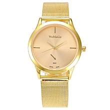 2017 New Fashion Female Clocks Women Luxury Quartz Watch Rose Gold Watch B