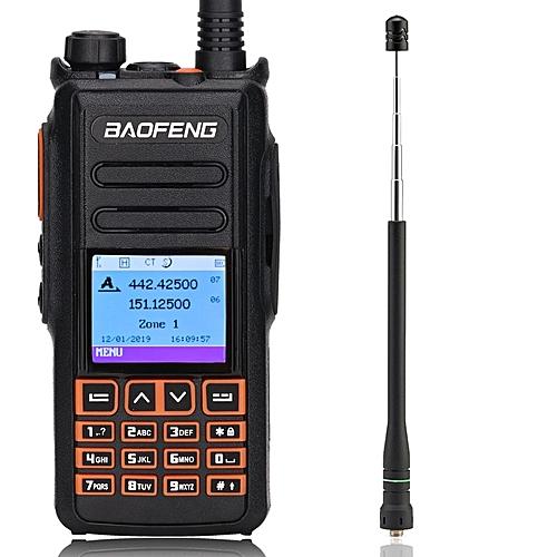 DM-X Digital walkie talkie GPS Record tier 1&2 tier ii Dual Time Slot DMR  Digital/Analog Ham Radio upgrade of DM-1702 GSJAW