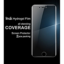 2pcs No Wiping Anti Glare Hydrogel Film For IPhone 8 7 Screen Protector Front Cover/Back Cover Protector For IPhone 8 Film