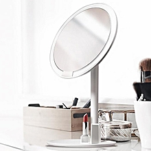 AML004 Rechargeable Brightness Adjustable LED HD Makeup Daylight Mirror from Xiaomi Youpin - WHITE