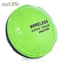 Wireless Sonar Fish Finder Bluetooth Depth Sea Lake Fish Detect Device - Black + Green