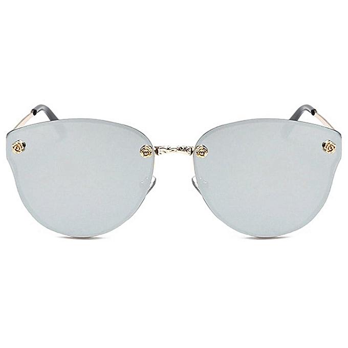 Buy Sunshine Men Women Shades Mirror Sunglasses UV Protection Gold ...