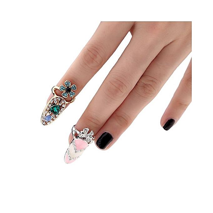 Anniversary Sales - Buy Generic 1pc Fashion Nail Jewelry Bowknot ...