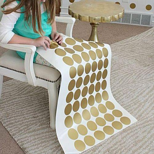 Generic Polka Dots Wall Sticker Baby Nursery Stickers Kid Children