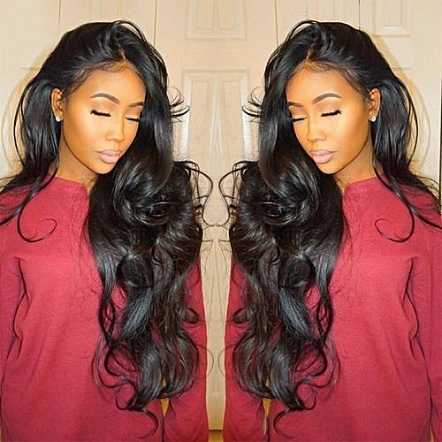 Generic Wig Curly Wig Glueless Full Lace Wigs Black Women Indian Remy Human  Hair Lace Front Black 2f05d05aff