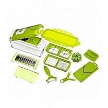 Amazing Multifunctional Nicer Diser Vegetable Cutter - Green