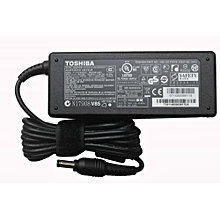 Laptop  Adapter Charger 19V 3.42A 65W  - Black Complete with power cable