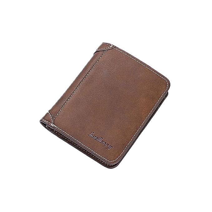 ed8c99cf58b Baellerry Elegant Executive Men Leather Wallet -Brown   Best Price ...