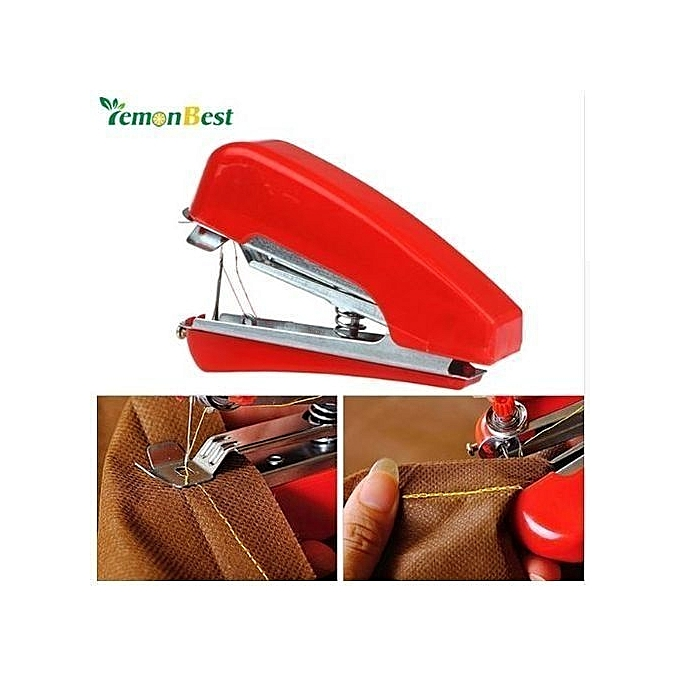 Buy Generic Handheld Mini Sewing Machine Manual Portable Home Travel Adorable Sewing Machine Manuals Online
