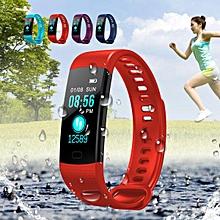 Waterproof Smart Wristband Watch Heart Rate Monitor Blood Pressure Tracker Sport