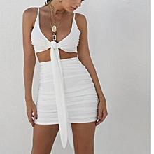 Two Piece Dress (White)