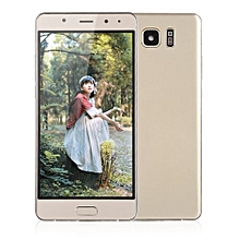 6 Inches MTK6580 Smartphone Cell Phone For Android S8 Dual Sim Dual Stand-Golden