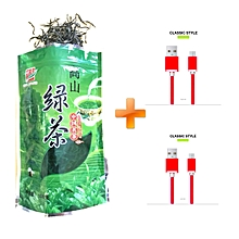 Chinese Green Tea Losing Weight Tea 100g, Get Two Free Android Cables