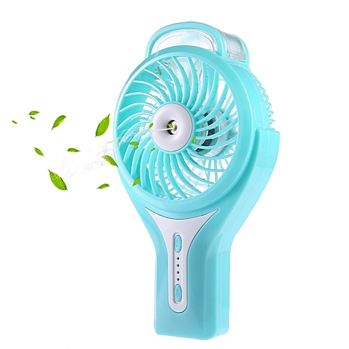 Misting Fan, 2 In 1 Mini Handheld USB Misting Fan With Personal Cooling,  Mist