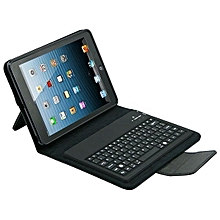 PU Leather with Removable Bluetooth Keyboard Case Cover for iPad 2 3 4 (Black) Mll-S