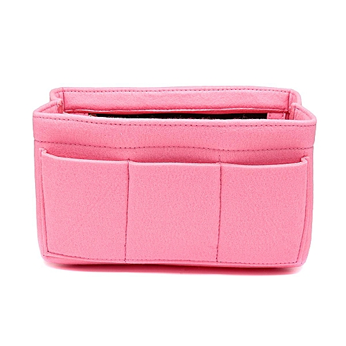 686dfbcace56 Felt Insert Bag Multi Pockets Handbag Purse Organizer Zipper Medium Large  XL [XL:34*18*17cm]