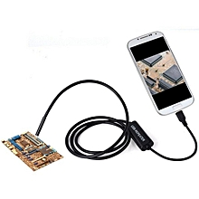 6 LED 7mm Lens USB Endoscope Borescope Waterproof Tube Snake Camera for Android 1M WWD