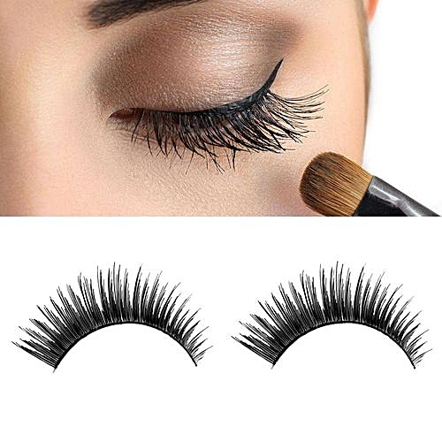 1 Pair Luxury 3d False Lashes Fluffy Strip Eyelashes Long Natural Party Long Eyelash Extension Real Eyelash For Makeup Lashes Beauty & Health