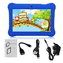 TA-Q88 7-Inch Touch Screen Children Tablet 512MB+8GB UK Plug Pad Birthday Gift dark blue