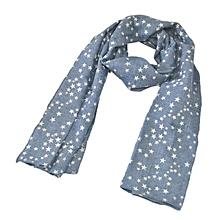 2016 New Children WinterAutumn Comfortable SoftScarf Very Cute Star Baby ScarfBU