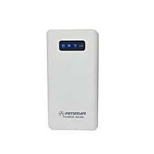 10000mAh powerbank - White