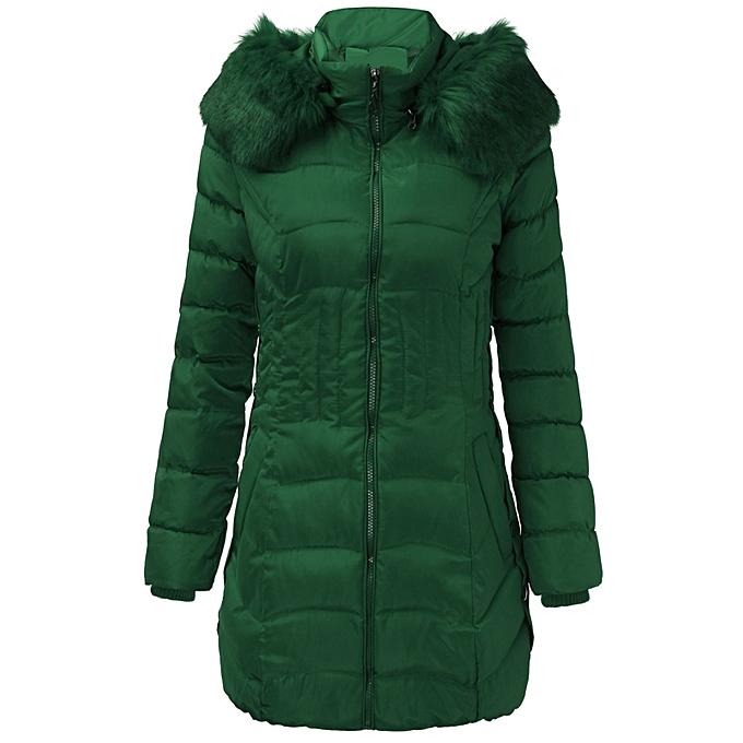ffaa3bd02676 UK Stock Women s Winter Slim hooded Long Padded Jacket Down Jacket Coat Plus