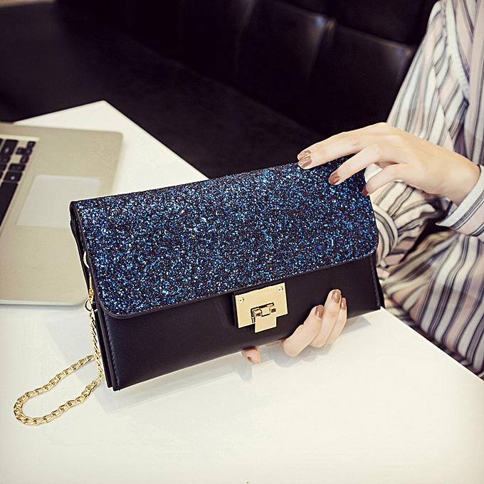 032ee76ac6 Handbag Single Shoulder Lady Slant Bag Sequins Individual Hand-held Dinner  Bag