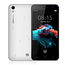 HT16 Android 5.0 inch 3G Smartphone Quad Core 1GB+8GB-WHITE