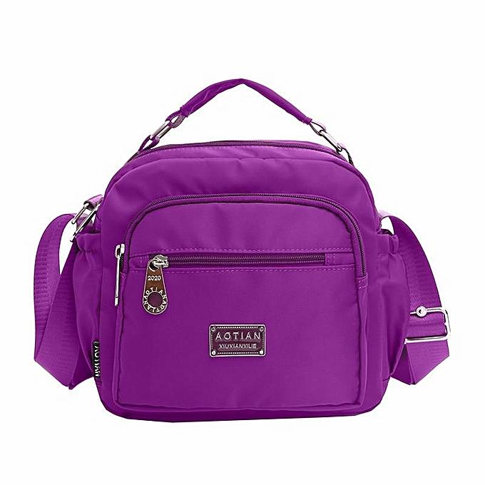0c65a790efa1 Women Nylon Waterproof Bags Girls Casual Shoulder Bags Outdoor Crossbody  Bags