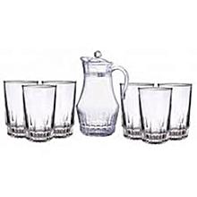7 Pcs Drinking Glass Set .