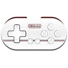 LEBAIQI 8Bitdo ZERO Mini Controller Portable Bluetooth White Wireless GamePad