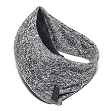 Travel Pillow with Eye Mask, Portable Comfortable Neck, Head, Chin Support Rest Cushion for Airplane, Voyage, Naps, Camping, Cars, Trains (Grey)