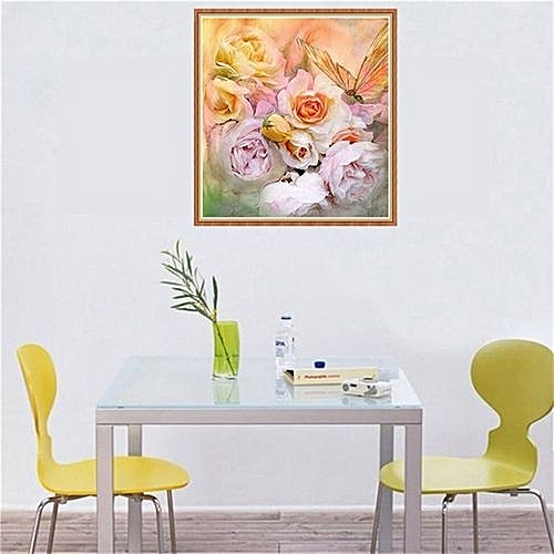 Buy Generic Technologg Home Decor Flowers 5d Diamond Embroidery Diy