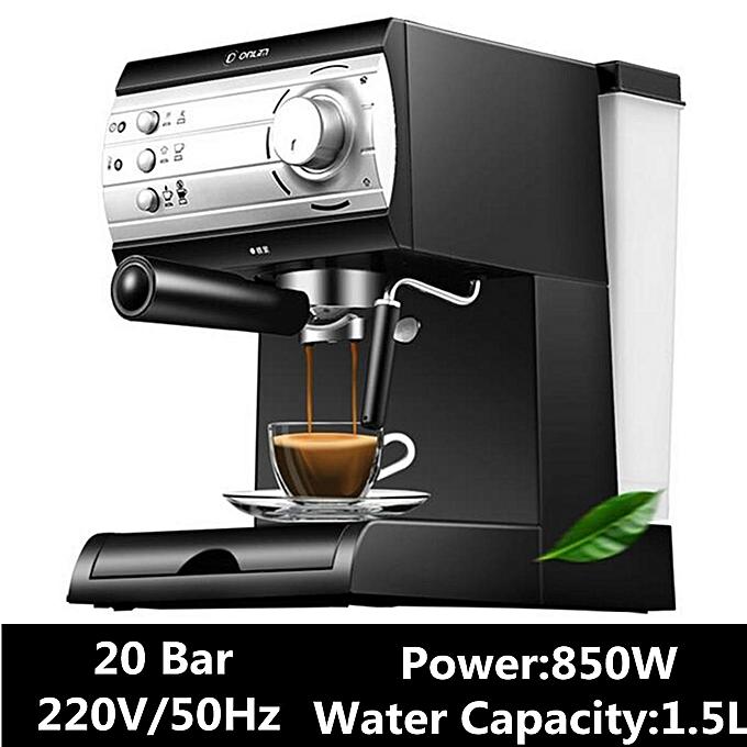 Dl Kf6001 Semi Automatic Coffee Maker Barista Espresso Machine Milk Steamer