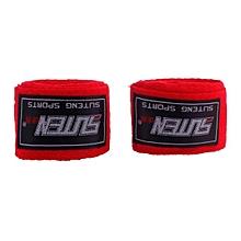 SUTEN 1 Pair Width 5cm Length 2.5M Cotton Boxing Bandage Sanda Handwrap RD