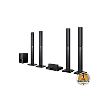LHD-657- Home Theatre System - 1000W - Black