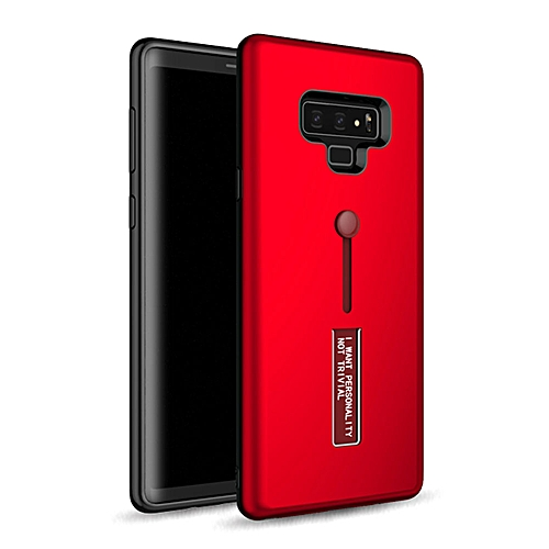 free shipping 3d9a2 13d77 Galaxy Note 9 Case,Dual Layer PC+TPU Durable Slim Fit Case with Stand and  Anti Drop Finger Strap Multi-Function Protective Cover for Samsung Galaxy  ...